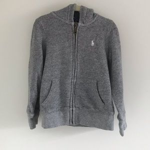 Boys Polo hoodie.